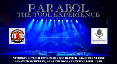 Parabol - The Tool Experience Live at Soo Blaster - Oct 12