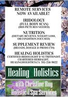 Healing Holistics with Christine Roy - Sault Ste. Marie