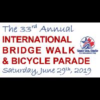 The 33rd Annual International Bridge Walk & Bicycle Parade - June 29th, 2019 - FULL DETAILS