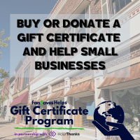 Chamber partners with FanSaves Helps Gift Certificate Program