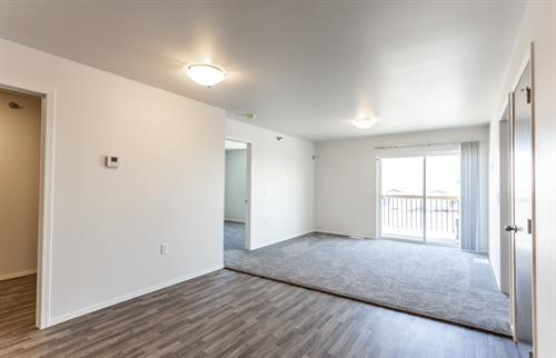 3 bed 2 bath living space