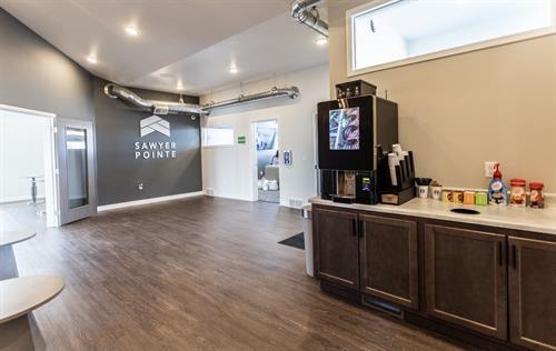 Lobby w/ Starbucks Coffee Bar