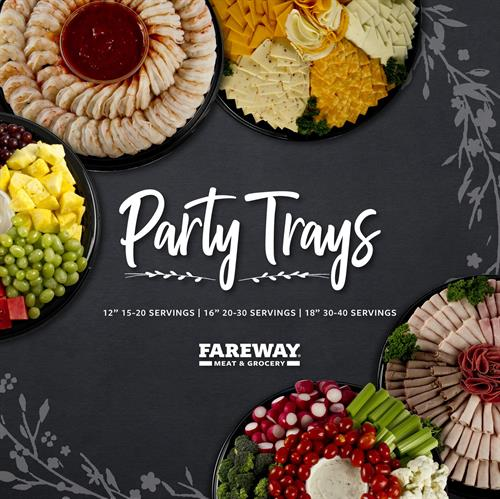 We have party trays available for your next party.