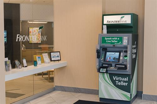 Bank on your schedule with an Interactive Teller Machine (ITM)! One is conveniently located at each location. Looks like an ATM, but it is so much more.