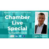 Chamber Live Special with Luke Pollard MP,  Shadow Secretary of State for Environment, Food and Rural Affairs