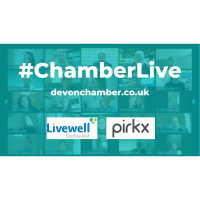 Chamber Live Virtual Event on Zoom - Improve the health and wellbeing of your workforce