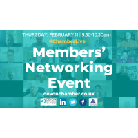 Chamber Live - Members' Networking Event
