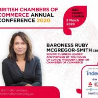 Baroness Ruby McGregor-Smith CBE Elected BCC President