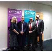 Councillor Tudor Evans Visits Devon & Plymouth Chamber's New Premises