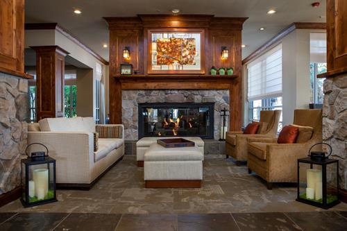 Fireplace- Hilton Garden Inn Boise/Eagle