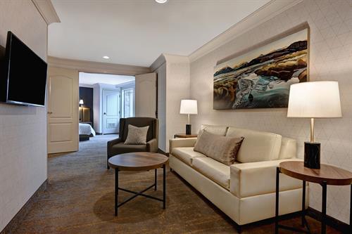 Grand Suite Sitting Area