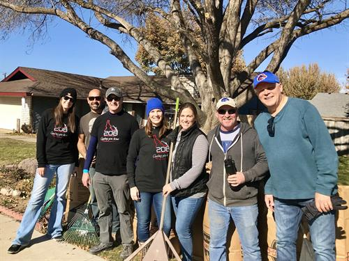 "Team ""Relocate 208"" helping to ""Rake Up Boise"", 2019!"