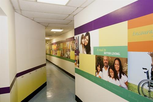 Interior Branding -Wall Graphics