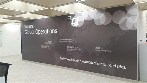 Interior Graphics- GE Worldwide