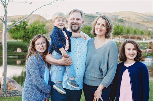 Dr Reis and her Family