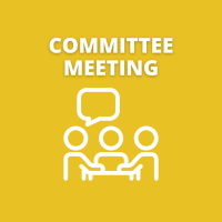 Health Committee Meeting One week later for this month only