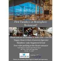 First Tuesdays | Exclusive Members-Only After Hours at Hemisphere Restaurant