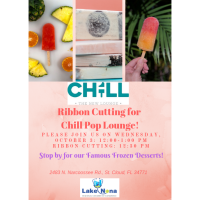 Ribbon Cutting for Chill Pop Lounge