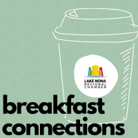 "Breakfast Connections with Lake Nona Information Center Team - ""Latest, New and Coming to Lake Nona"""