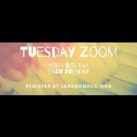 Tuesday Zoom - Scavenger Hunt