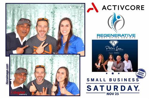 Small Business Saturday Photo Booth!