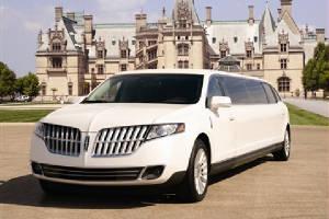8 passenger stretch limousine