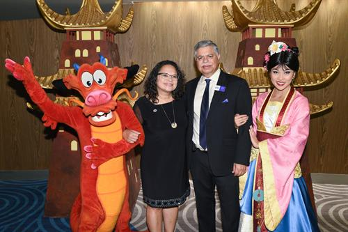 Disney Contemporary resort annual Golden Dragon Awards