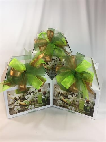 Mini Spa Amenity Gift Totes