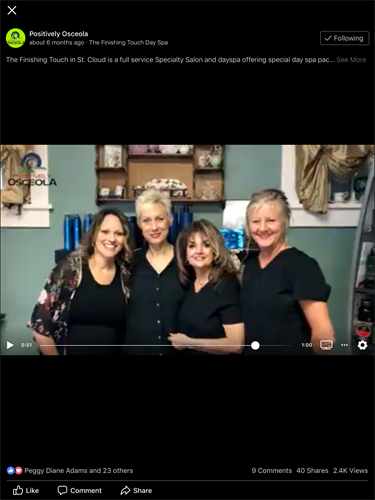 Dawn, Tatyana, Carolyn, Heidi, Alex ( not shown)