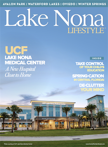 Lake Nona Lifestyle March 2021 Cover