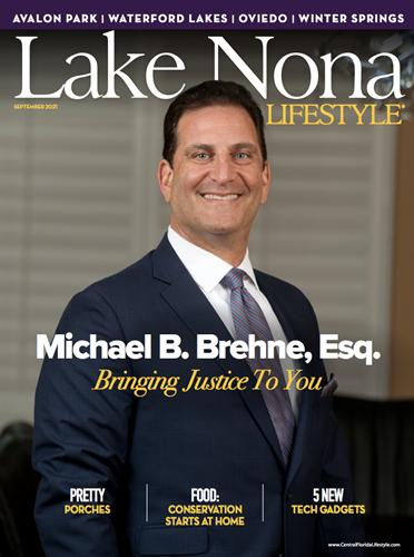 Lake Nona Lifestyle Sept 2021 Cover