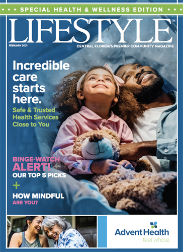 Lifestyle Special Health and Wellness Cover Feb 2021