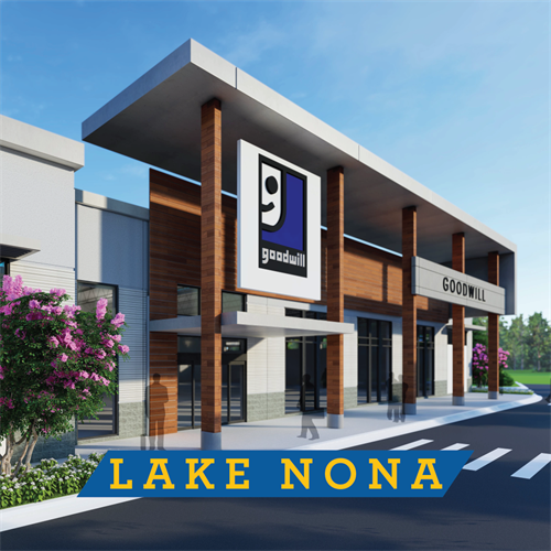NEW Lake Nona Goodwill retail store coming July 2020!