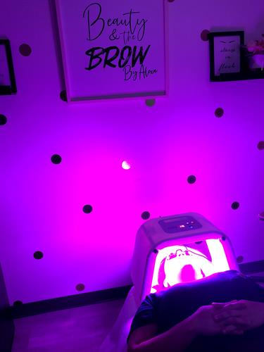 LED Light Therapy included with every facial service