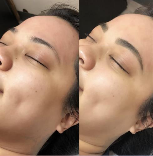Before & After Brow Wax + Tint