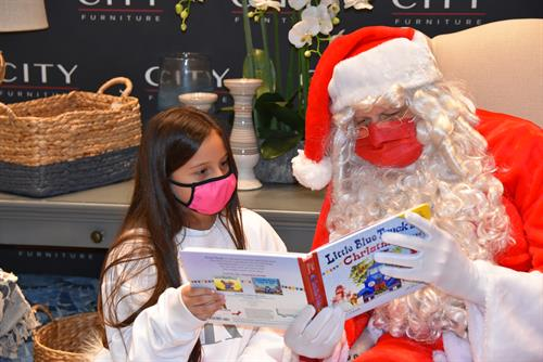A Hero For Kids Partners With City Furniture to Offer Free Pictures With Santa