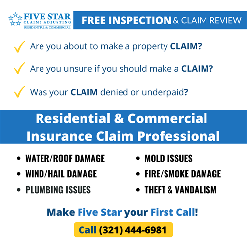 Public Insurance Claims Adjusters