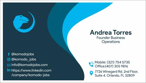Business Card Andrea Torres