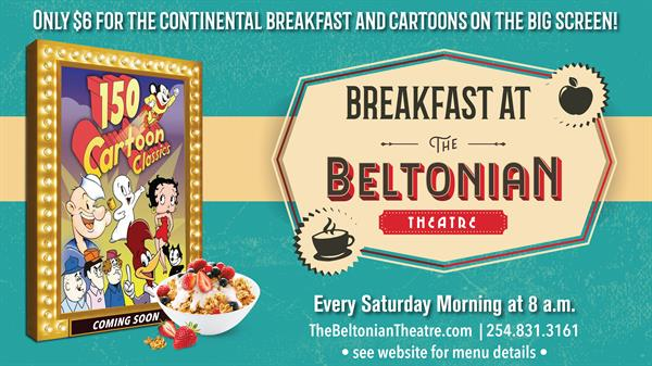 Breakfast at The Beltonian Theatre