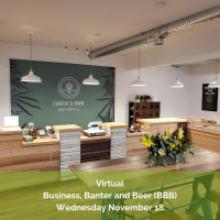 Virtual Business Banter & Beer (BBB) at Earth's Own Naturals