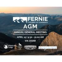 Virtual Annual General Meeting (AGM) - Fernie Chamber of Commerce