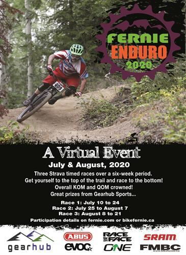 The 2020 Fernie Enduro bike race filled the Covid event void safely