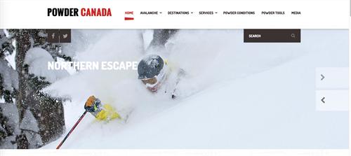 Powder Canada promotes