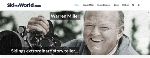 20 plus years of working with Warren Miller and Ski The World continues
