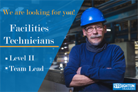 Facilities Technician Team Lead