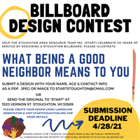 START BILLBOARD DESIGN CONTEST
