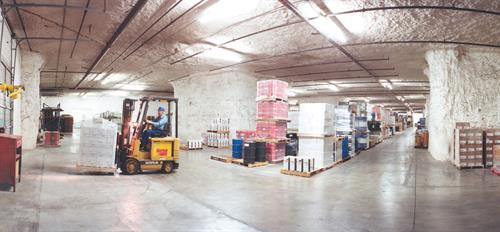 Warehousing in the underground