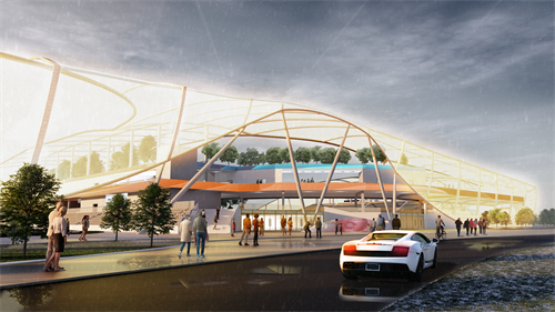 Future Stadia Modular Sports Complex Concept