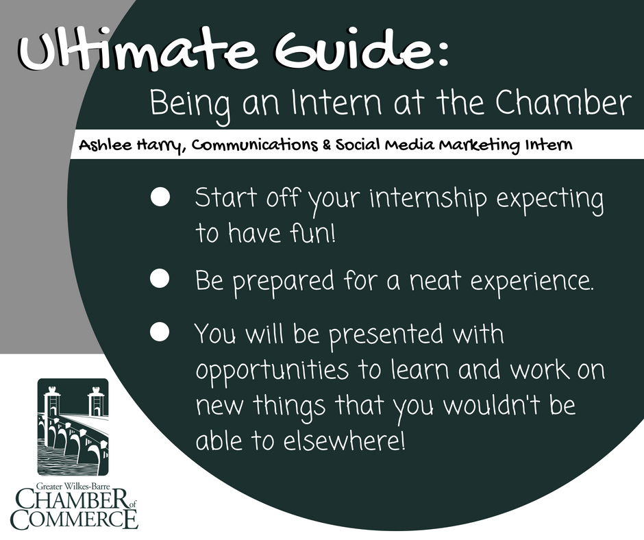 The Ultimate Guide to Being a GWB Chamber Intern: Ashlee Harry