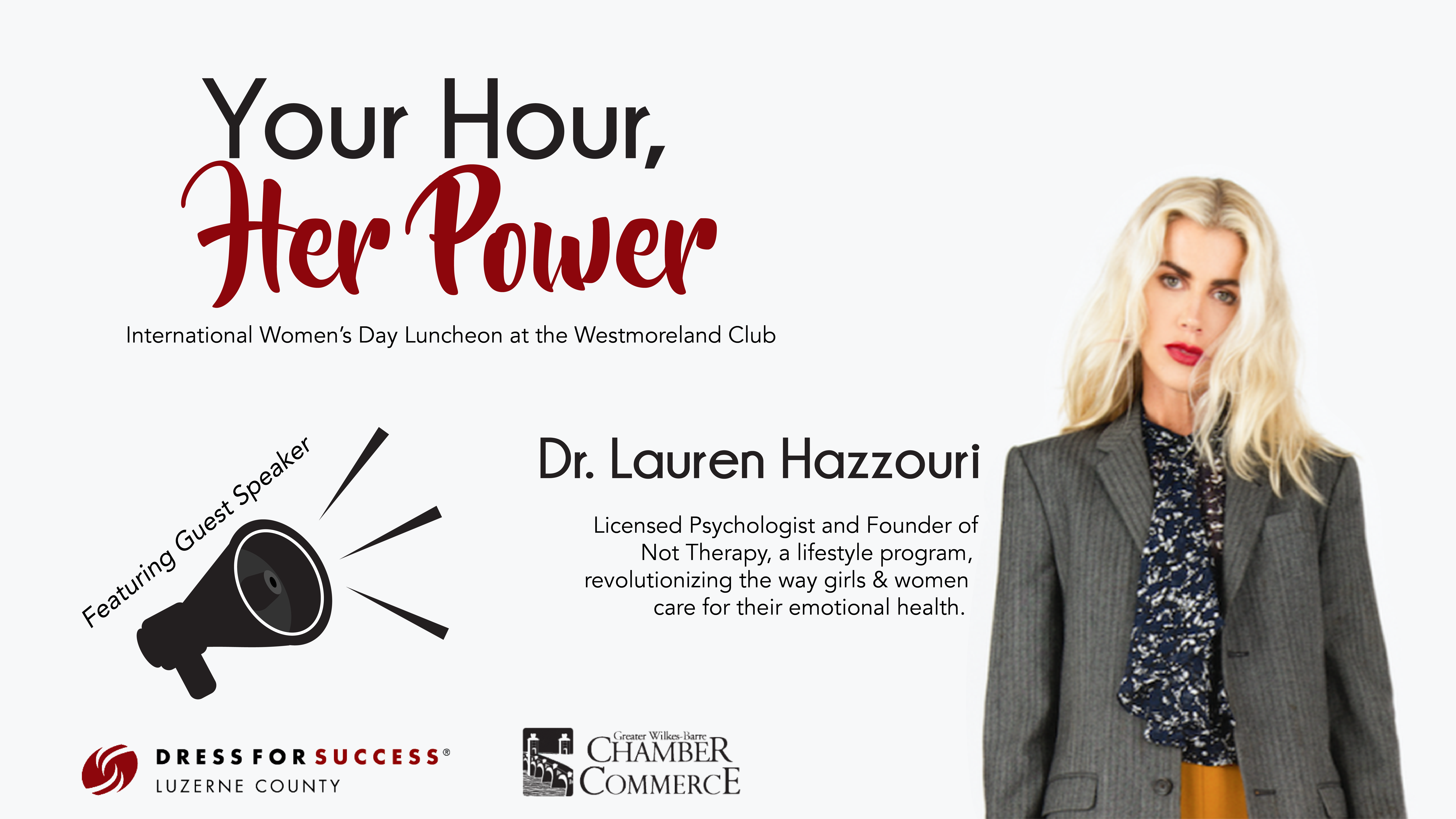 Meet the Mentorship Auction Participants for the Your Hour, Her Power Luncheon!